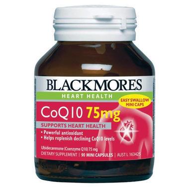 Blackmores 澳佳宝 辅酶Q10保护心血管营养素 30粒x75mg